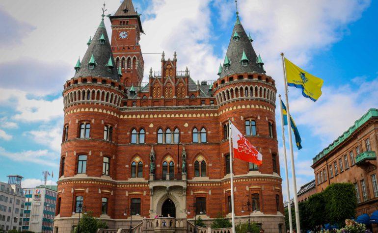 Портовый город Хельсинборг